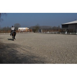 Permanent Dressage Arena Edge - 20m x 60m