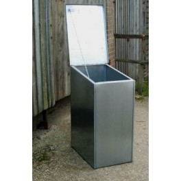 Premium Galvanised Feed Bin - 1 compartment (Single)