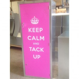 """Keep Calm"" Extra Wide Double Tack Locker"