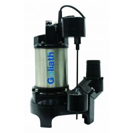 Goliath Super Submersible Pump - 250 L/min - GOLIATH SUPER 230V/1Ph Auto