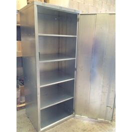 Extra Tall and Wide Locker with Shelves