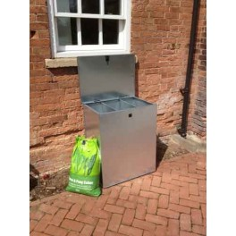 350 Litre Galvanised Feed Bin Flat Pack