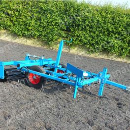 Arena Leveller Type 3 - 1.5m twin split rollers with Pin Hitch - Comes as standard