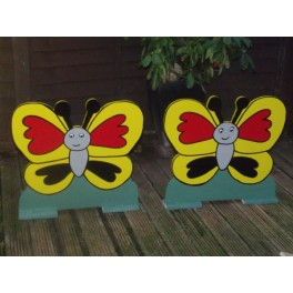 Pair Of Spooky Butterflies