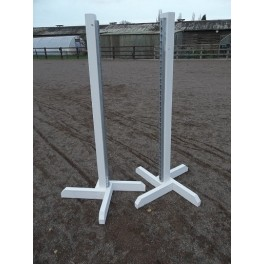 BSJA Upright stands (Pair) - 4 ft