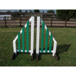 Show Jumps - Painted Wings (Pair) - 4ft Rectangular