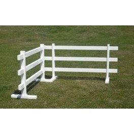 "3 rails, 6ft wide x 33"" high Temporary Fence (Pack of 1)"