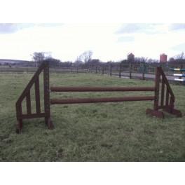 Show Jumps - Working Hunter - Set A - 4ft Wings, 8ft Poles + Cups