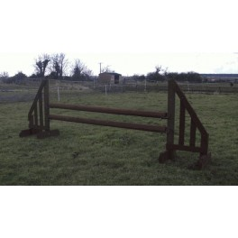 Show Jumps - Working Hunter - Set B - 5ft Wings, 8ft Poles + Cups