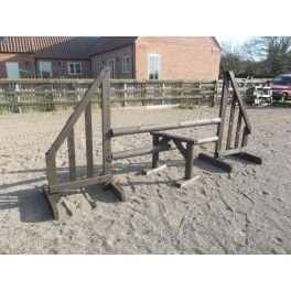 "Working Hunter ""Stile Jump"" Set - 6 ft x 4 ft"