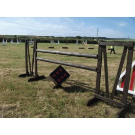 Show Jumps - 5ft Rustic Dice Set