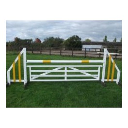 Show Jumps - 4ft Gate Filler Set - Rustic