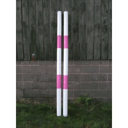 Show Jumps - Painted Poles