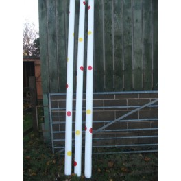 Show Jumps - Spotted Poles