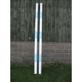 Premium Heavy Weight Timber Pole with End Cups - 8 ft Rustic