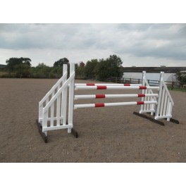 BSJA Show Jumps - Double Spread High Posted Set  - 8 ft x 5 ft