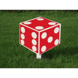 2D Dice Stand
