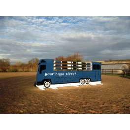 Horse Lorry Set - 8 ft x 4 ft - Front Graphics