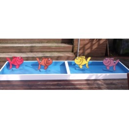 Show Jump Tray With Fish