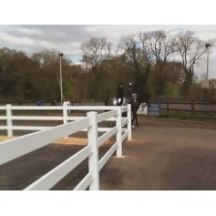 Vinyl Permanent Fencing The Dressage Arena Company